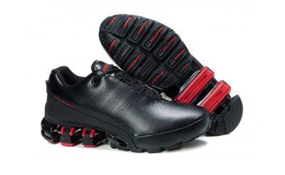 adidas porsche design bounce P'5000 s2 top layer leather black red купить