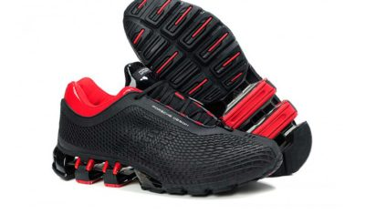 adidas porsche design sport bounce P'5000 s2 black red купить