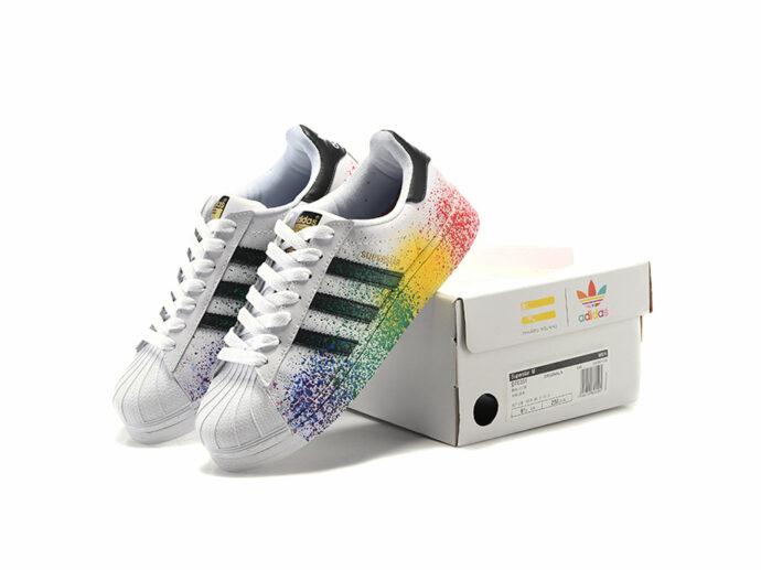 adidas superstar pride pack white