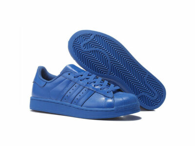 adidas superstar supercolor by Pharrell Williams bold blue