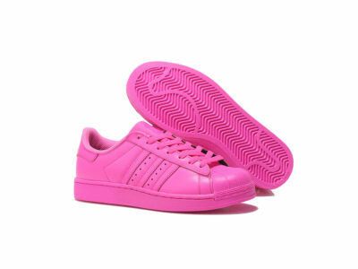 adidas superstar supercolor by Pharrell Williams solar pink