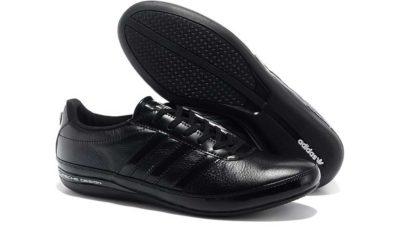 Интернет магазин купить оригинальные черные кожаные adidas porsche design sport s3 black.