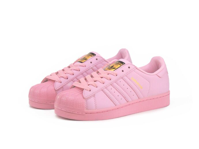 adidas superstar supercolor by Pharrell Williams light pink купить