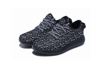 adidas yeezy boost 350 black white купить