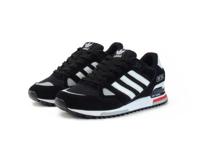 Adidas ZX 750 Black White купить