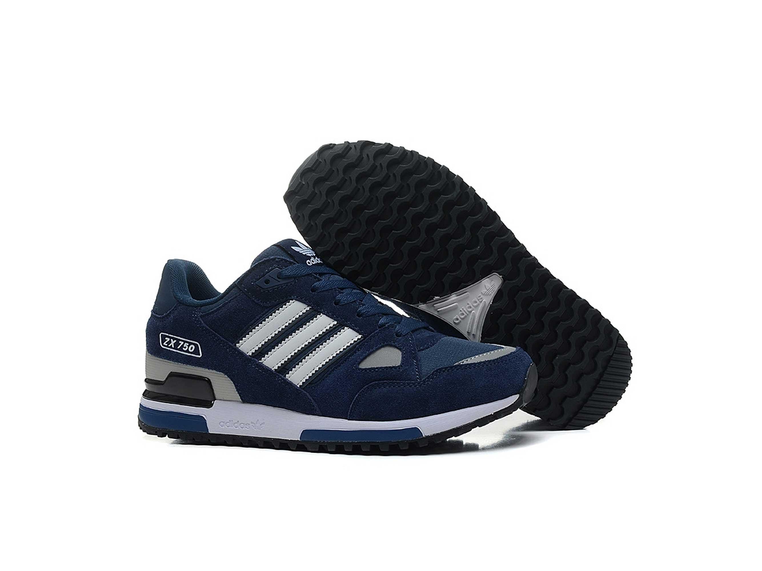 04f6d6422 Adidas ZX 750 Dark Blue Gray ⋆ adidas интернет магазин