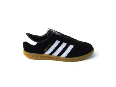 Adidas Hamburg Dark Black White