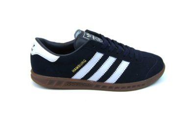 Adidas Hamburg Black White Dark