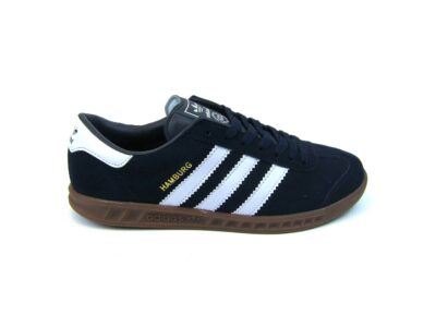 Adidas Hamburg Black White Dark