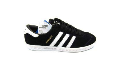 Adidas Hamburg Black White Light