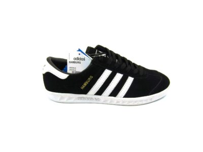 Adidas Hamburg Black White Light