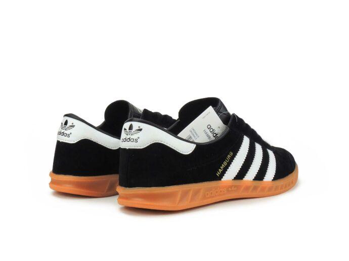 adidas hamburg black white s81452 купить