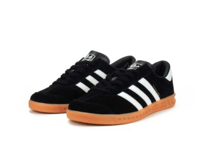 adidas hamburg black white s81452 купить