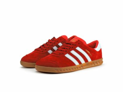 adidas hamburg red white g64039 купить