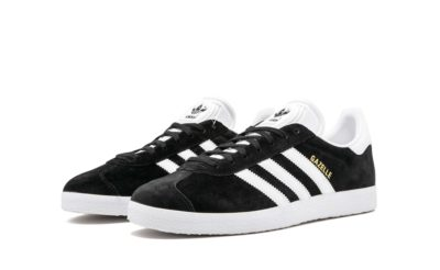 adidas gazelle black white BB5476 купить