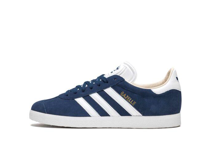 adidas gazelle blue white q21600 купить