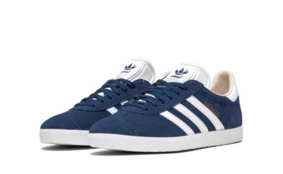 adidas gazelle blue white q21600 купить