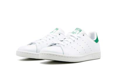 adidas stan smith leather white green m20324 купить