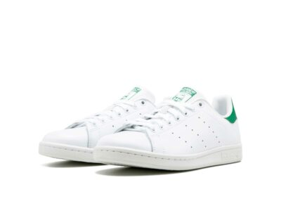 adidas stan smith leather white green m20324 купить