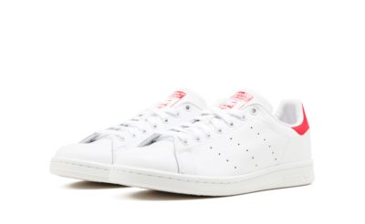 adidas stan smith leather white red m20326 купить