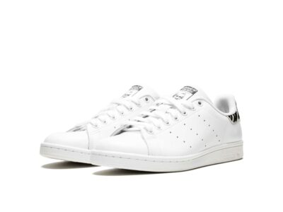 adidas stan smith leather white black zebra B26590 купить