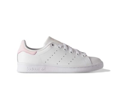 adidas stan smith leather white pink купить