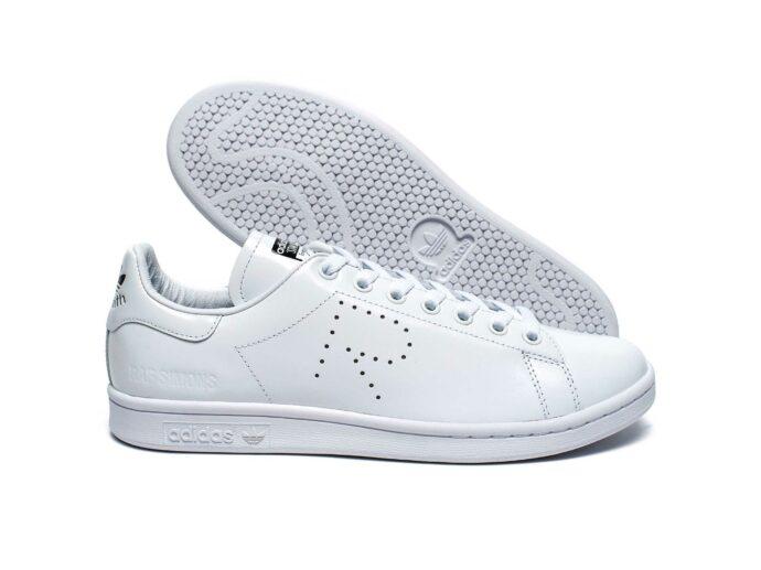 adidas stan smith x raf simons white купить