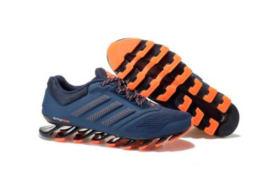 adidas springblade drive 2.0 navy orange купить