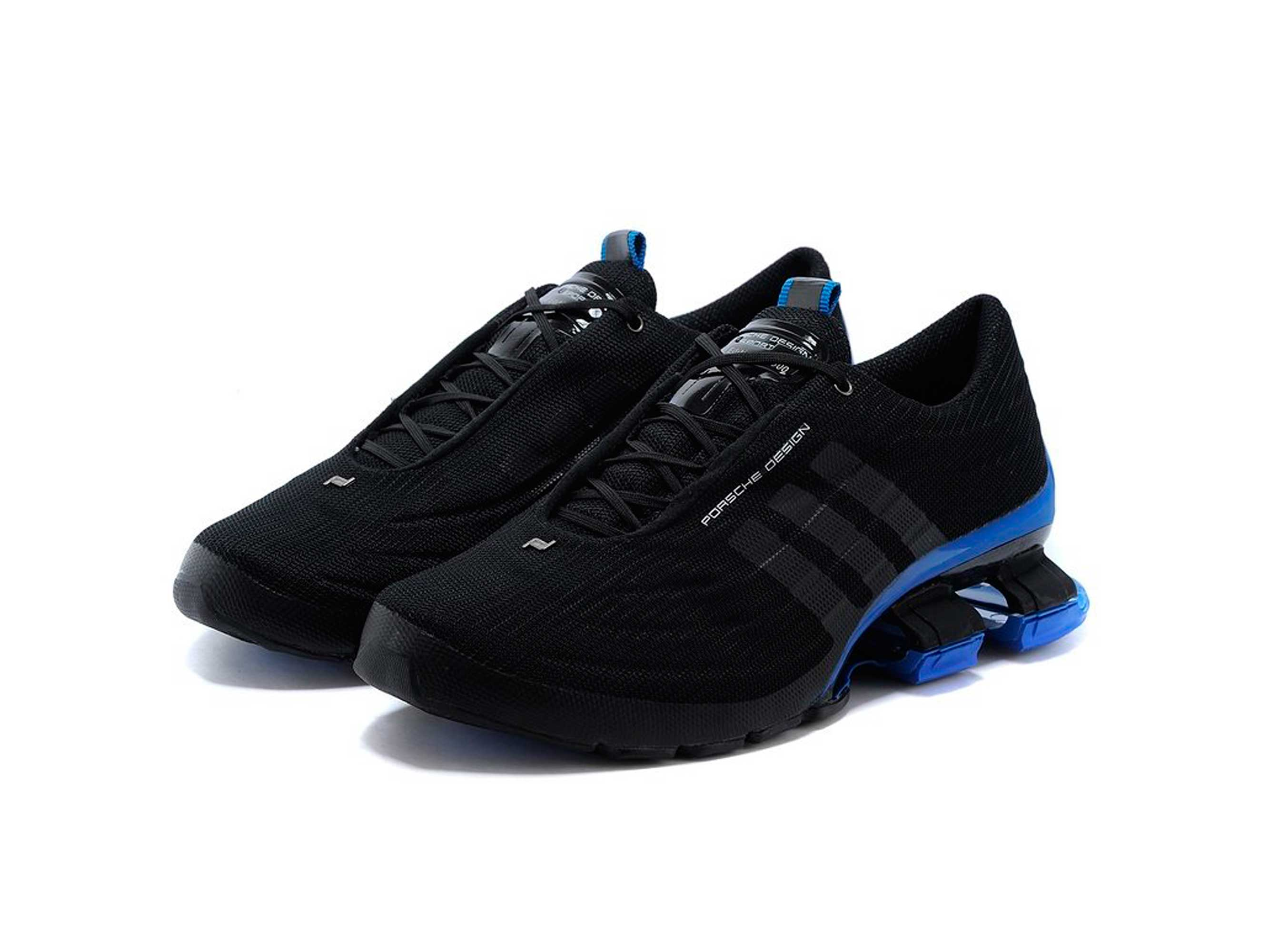big sale 0d967 f98fa adidas porsche design bounce S4 black blue