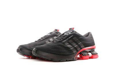 adidas porsche design bounce S4 black red купить