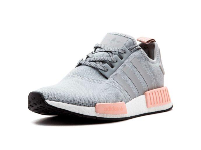 adidas NMD_R1 W grey pink BY3058 купить