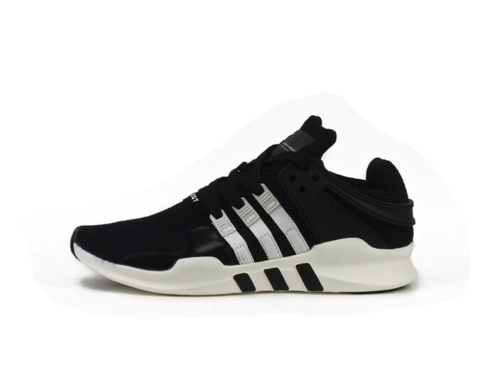 adidas EQT running support 93 primeknit black white s81490 купить