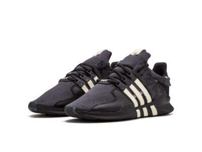 adidas EQT support ADV UNDF black white by2598 купить