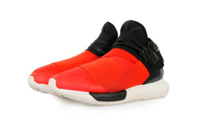 adidas Y-3 Qasa high black red купить