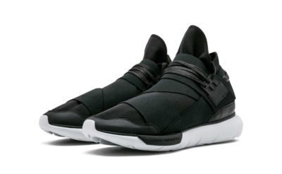 adidas Y-3 Qasa high black white AQ5499 купить