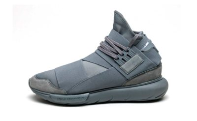 adidas Y-3 Qasa high grey купить