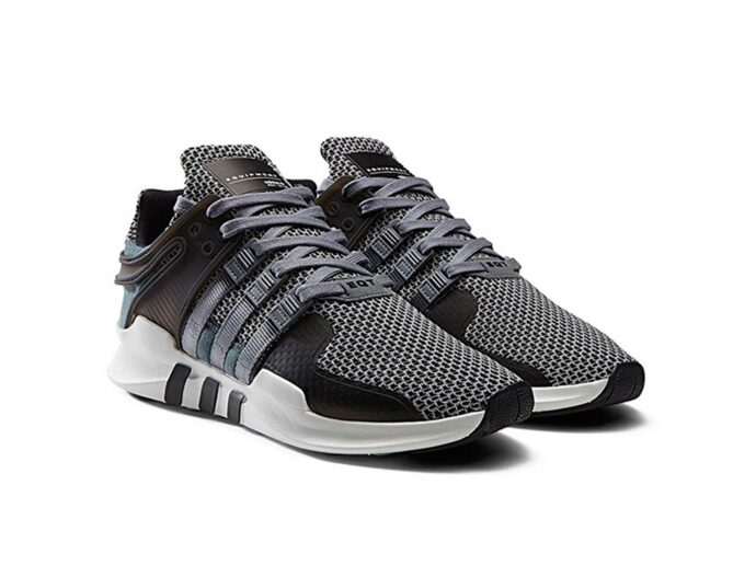 adidas eqt support adv grey core black ba8325 купить