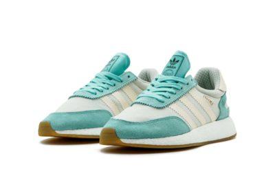 adidas iniki runner green beige ba9994 купить
