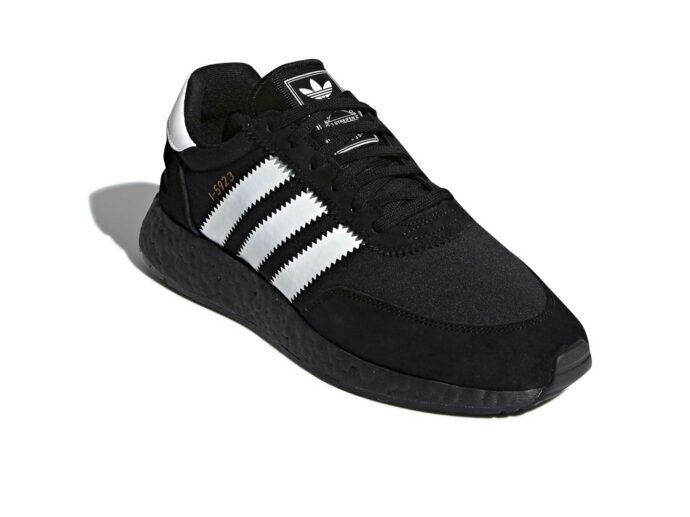 adidas iniki runner triple black I_5923 купить