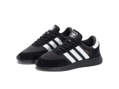 adidas iniki runner triple black I_5923 купить