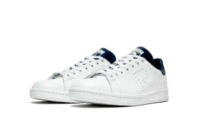 adidas stan smith x raf simons white blue купить