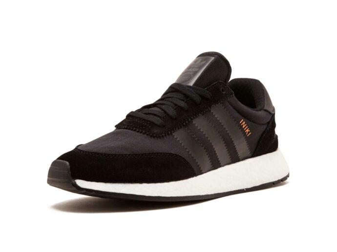adidas iniki runner black white by9730 купить