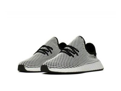 adidas tubular deerupt black white cq2626 купить