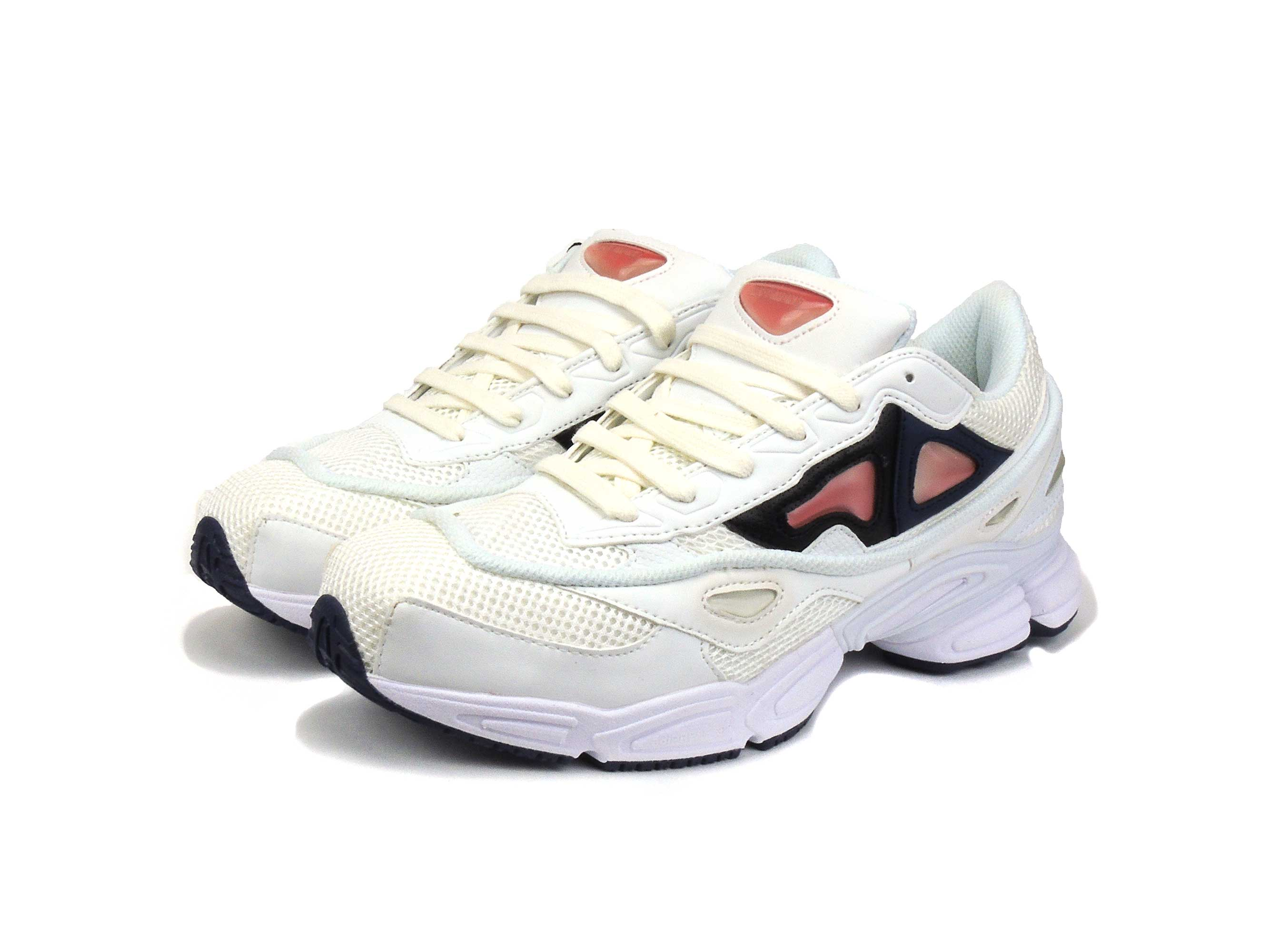on sale 1ef1e f6ede adidas x Raf Simons ozweego white pink