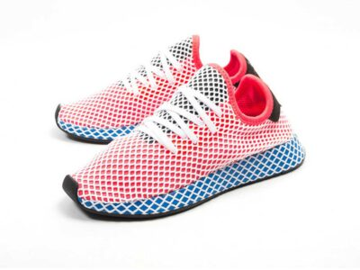 adidas tubular deerupt runner orange J_DA9610 купить
