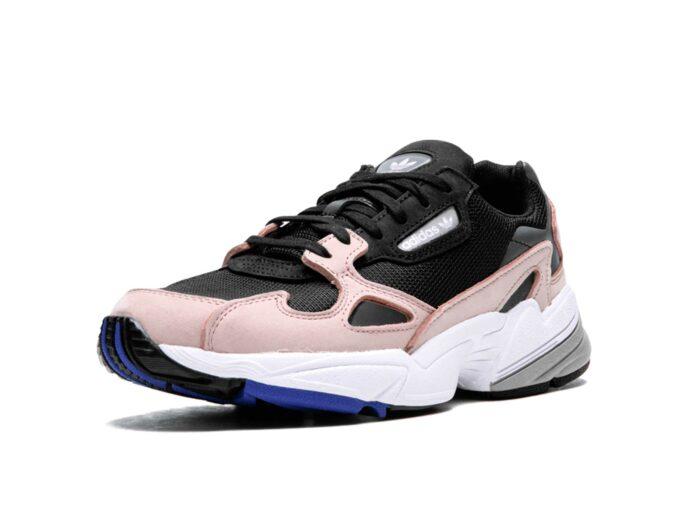 adidas falcon black pinkb28126 купить
