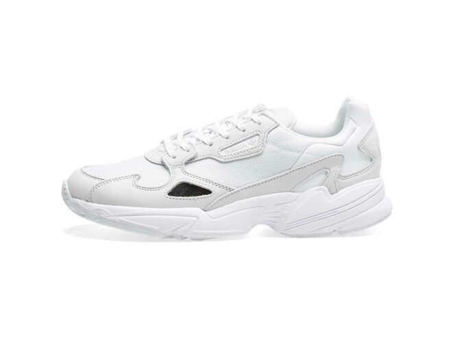 adidas falcon white b28128 купить