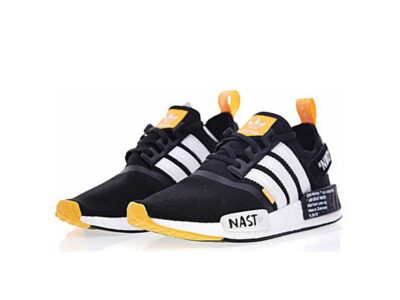 adidas nmd r1x off white black orange nast купить