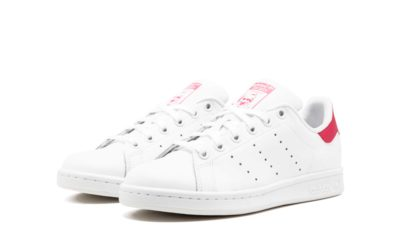 adidas stan smith leather white pink b32703 купить