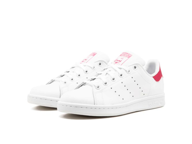 new product e8f06 60fb5 adidas stan smith leather white pink